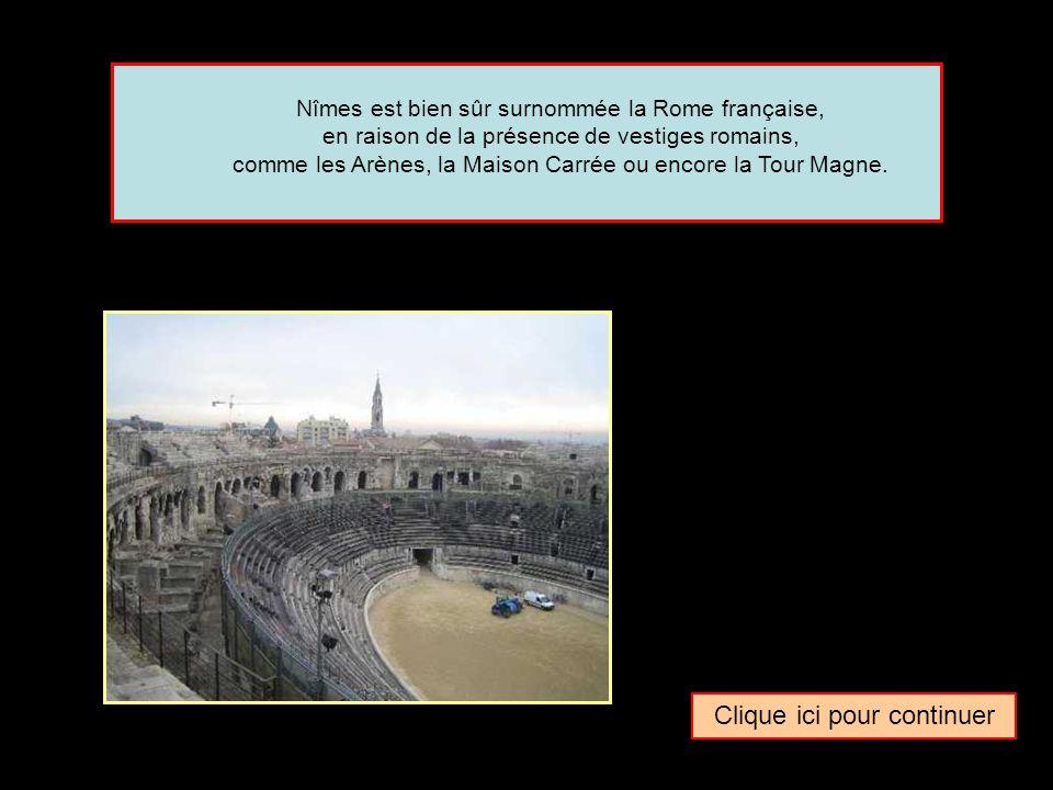 Quel surnom donne-t-on parfois à la ville de … Nîmes La Rome française La Naples française La Venise française