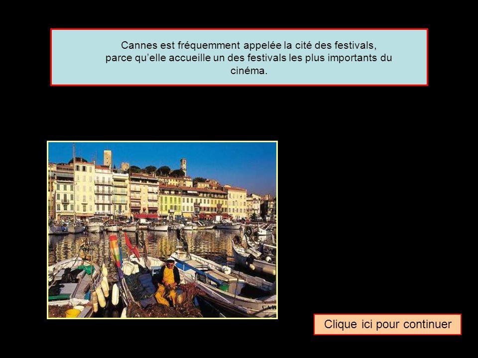 Quel surnom donne-t-on parfois à la ville de … Cannes La cité des festivalsLa ville du luxeLa commune des stars