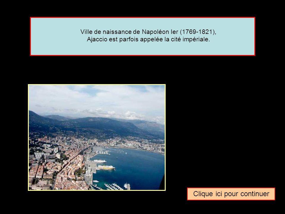 Quel surnom donne-t-on parfois à la ville de … Ajaccio La ville italienne La beauté corseLa cité impériale