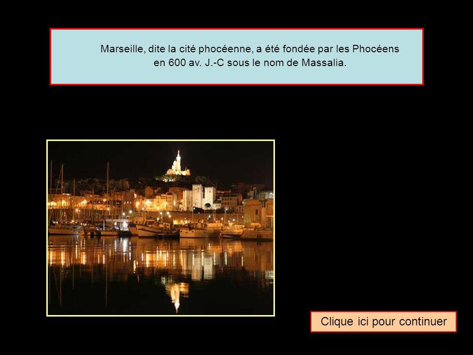 Quel surnom donne-t-on parfois à la ville de … Marseille La cité lavandienneLa cité phocéenneLa cité cigalienne