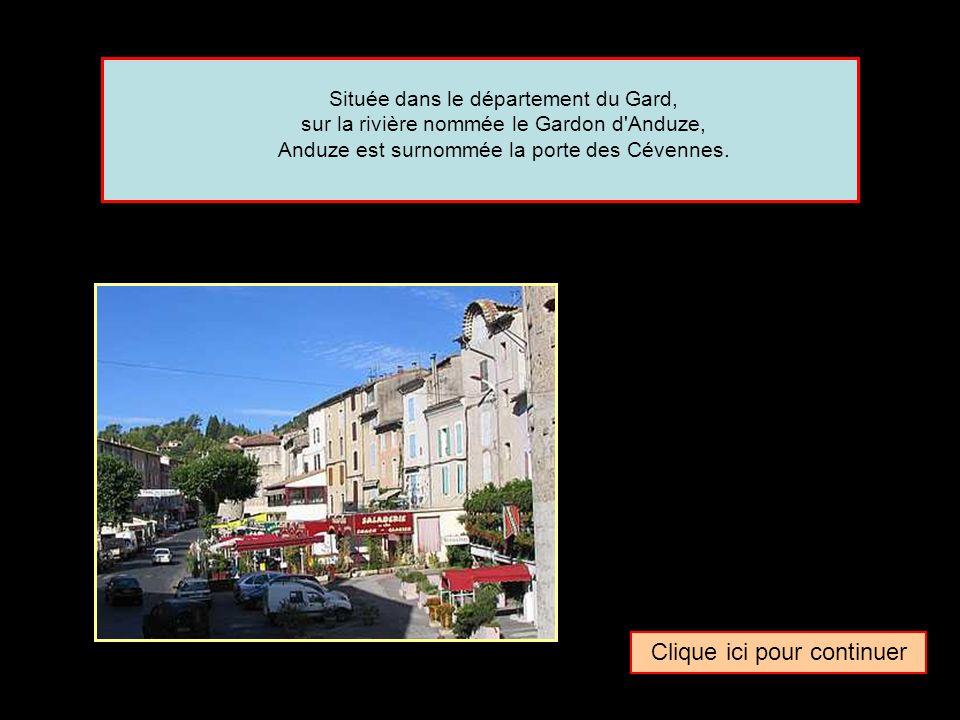 Quel surnom donne-t-on parfois à la ville de … Anduze La porte des CévennesLa porte des Mont d ArréeLa porte des Vosges
