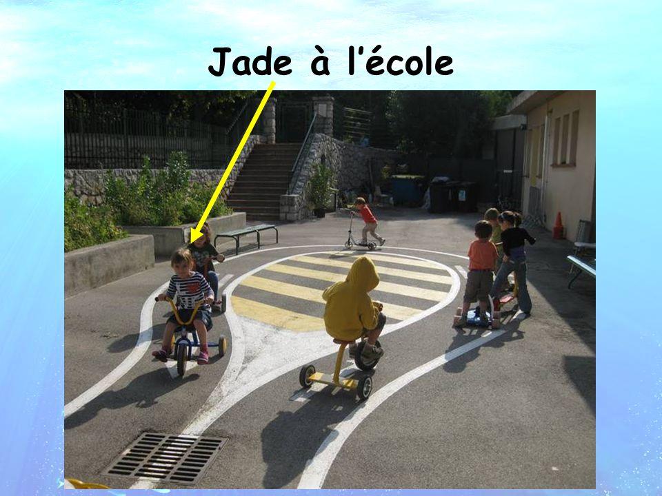Jade à l'école