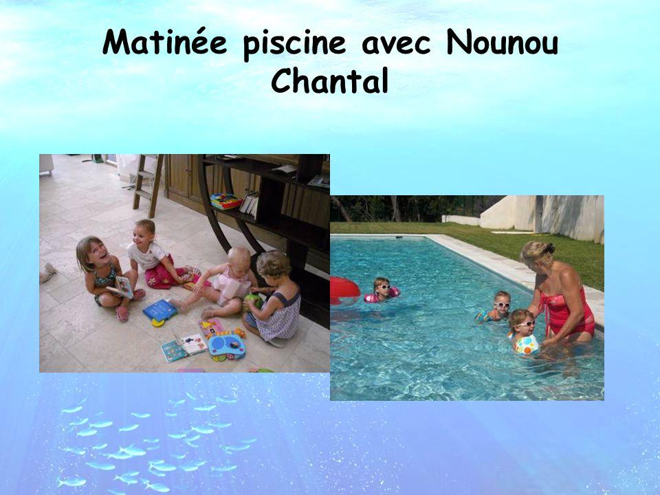 Matinée piscine avec Nounou Chantal
