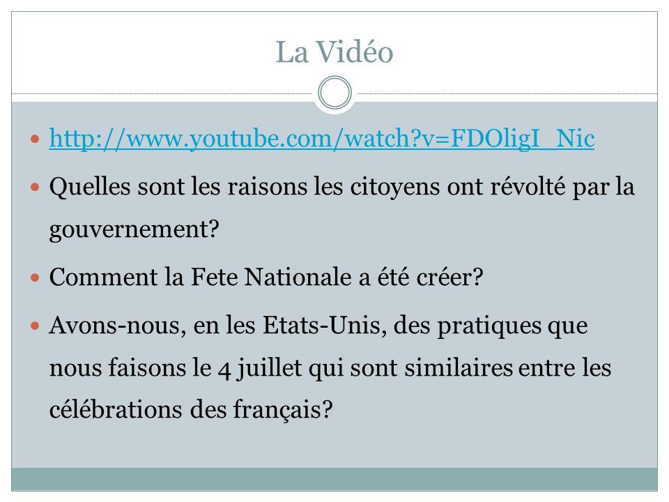 La Vidéo  http://www.youtube.com/watch?v=FDOligI_Nic http://www.youtube.com/watch?v=FDOligI_Nic  Quelles sont les raisons les citoyens ont révolté par la gouvernement.