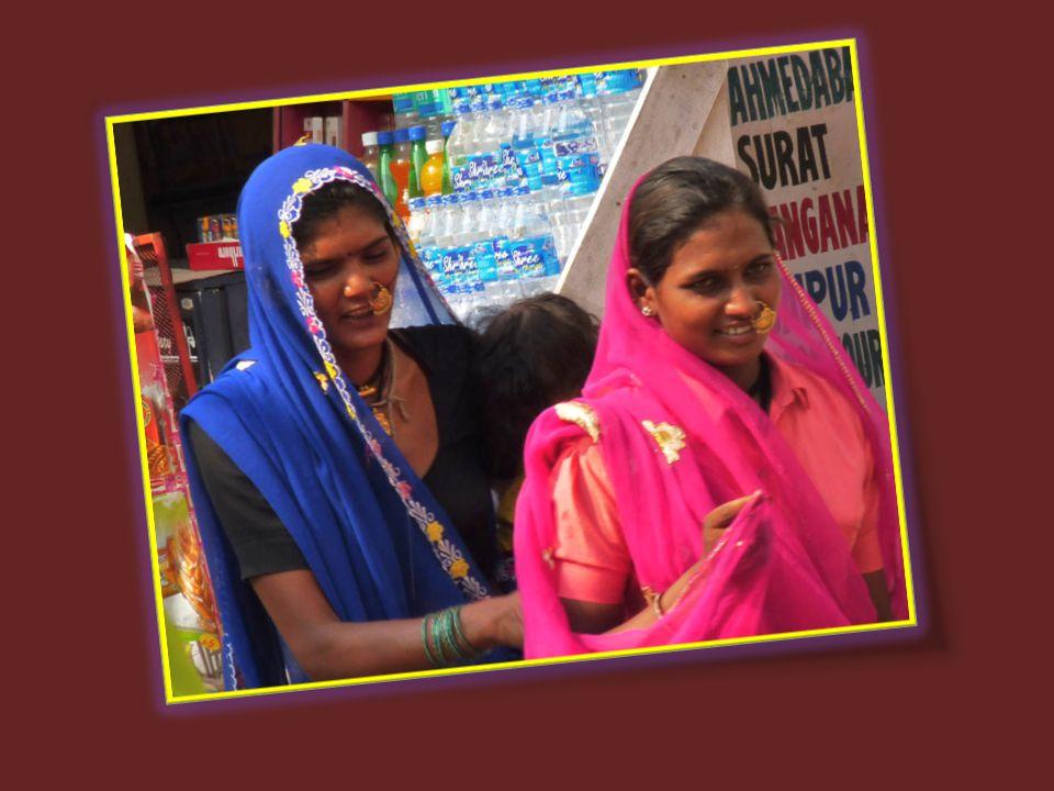 Il n'y a qu'au Rajasthan que nous pouvons voir de si belles couleurs.