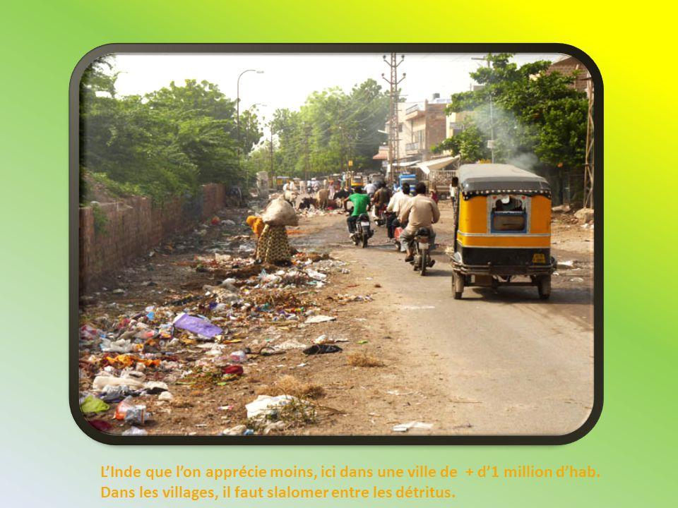 L'Inde que l'on apprécie moins, ici dans une ville de + d'1 million d'hab.