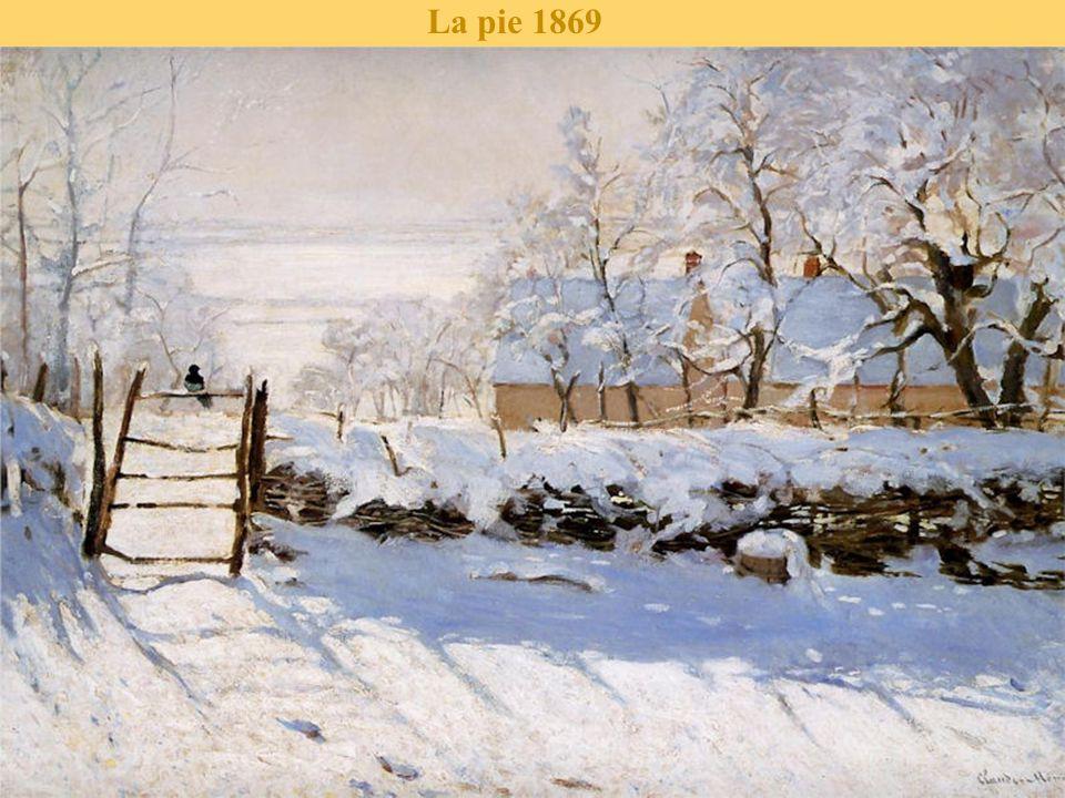 La route de la ferme Saint-Siméon en hiver 1867