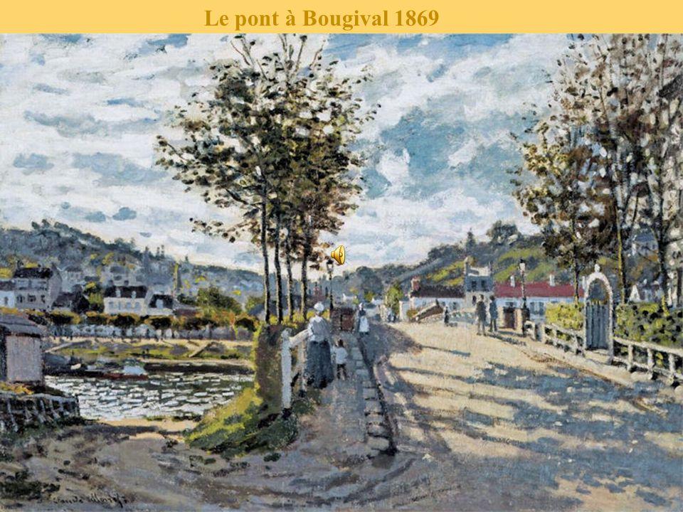 Le pont à Bougival 1869