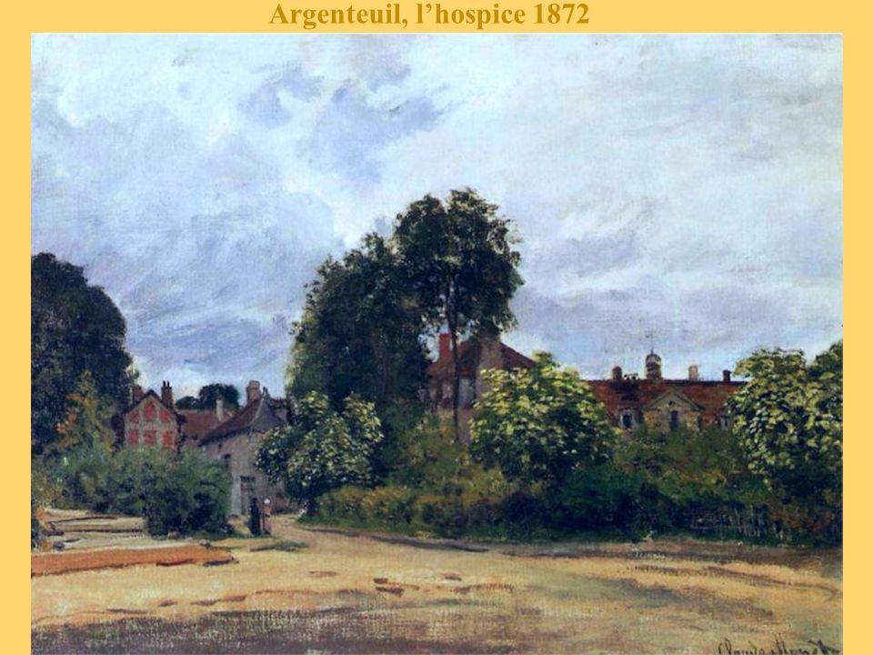 Chemin dans les vignes à Argenteuil 1872