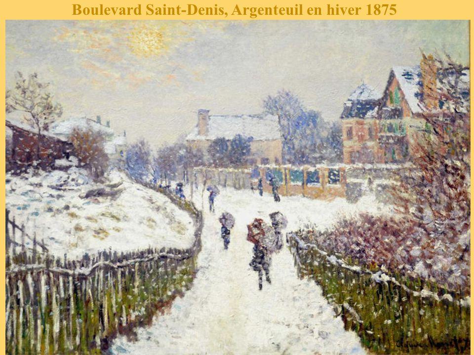 Amsterdam dans la neige 1874