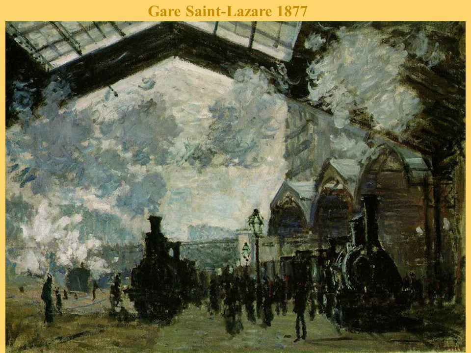 Le pont de l'Europe, gare Saint-Lazare 1877