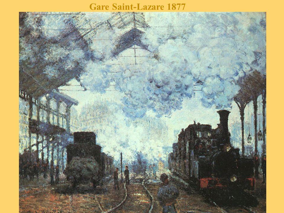 Gare Saint-Lazare 1877