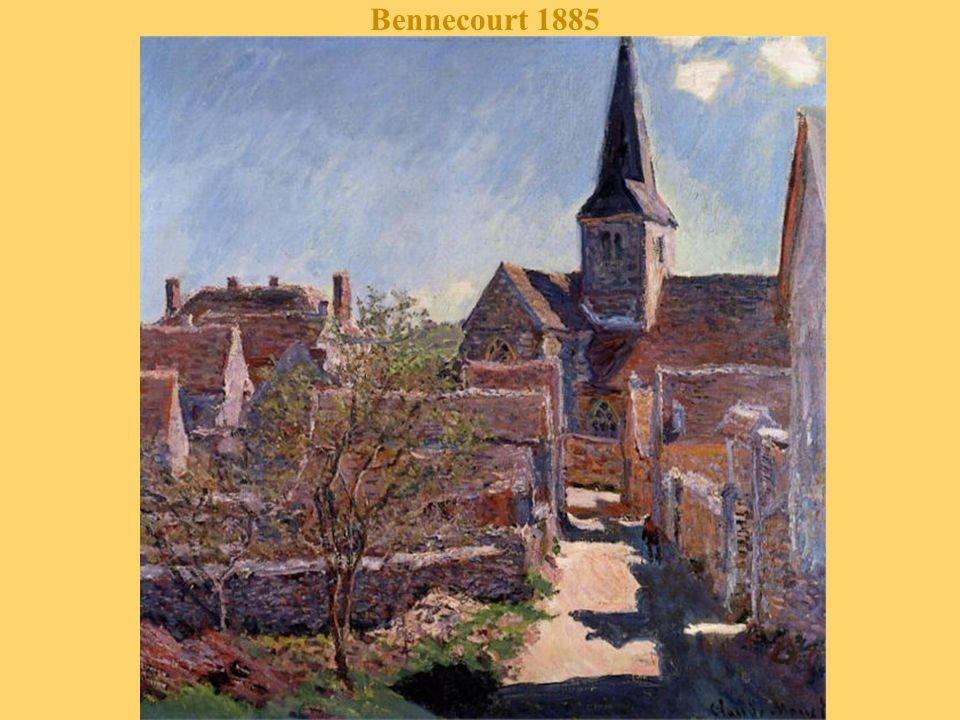 Chemin à Giverny 1885