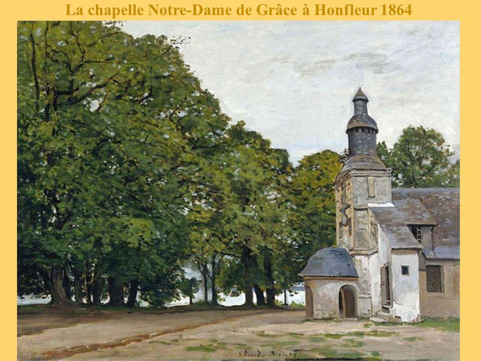 La chapelle Notre-Dame de Grâce à Honfleur 1864