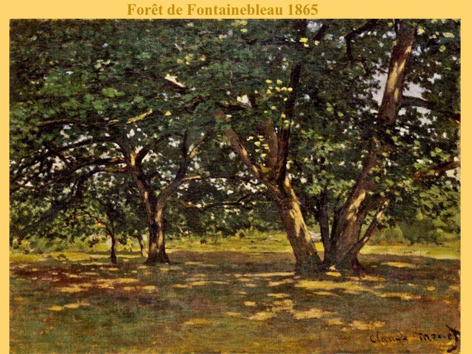 Forêt de Fontainebleau 1865