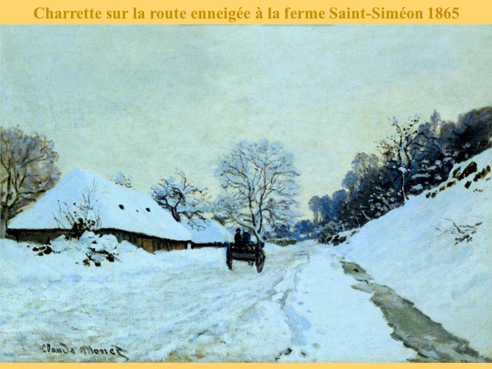 Eglise à Jeufosse, temps neigeux 1893