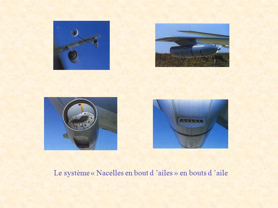 Le système « Nacelles en bout d 'ailes » en bouts d 'aile