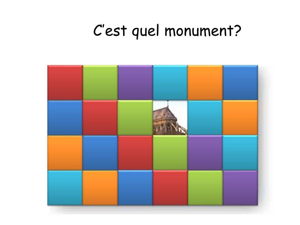 C'est quel monument