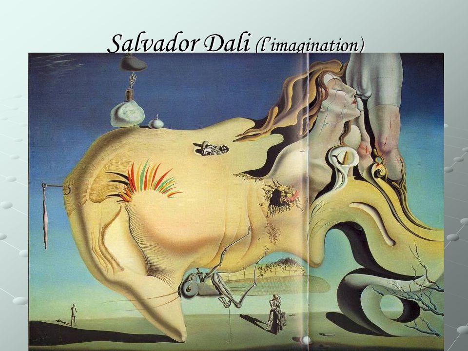 Salvador Dali (l'imagination)