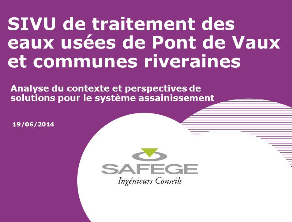 SIVU de traitement des eaux usées de Pont de Vaux et communes riveraines Analyse du contexte et perspectives de solutions pour le système assainisseme