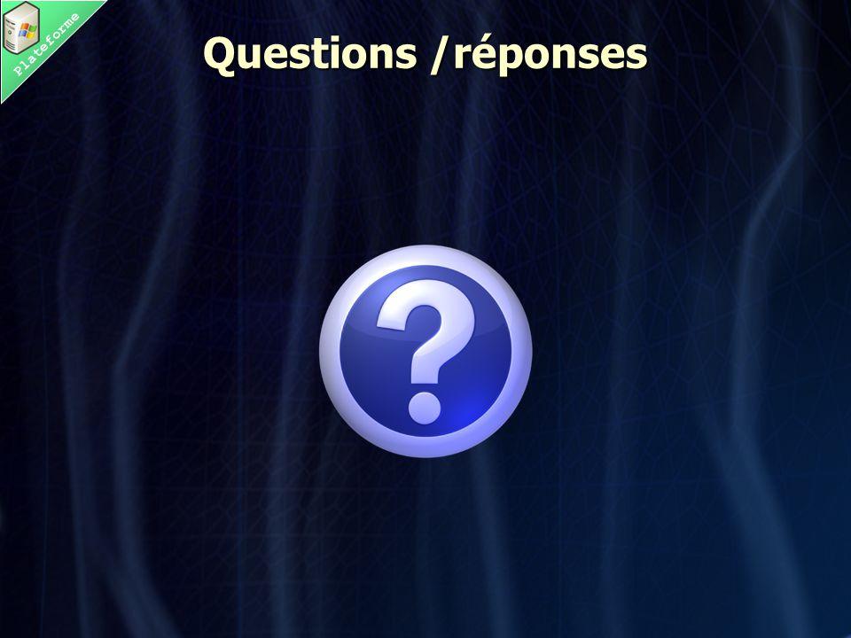 Plateforme Questions /réponses