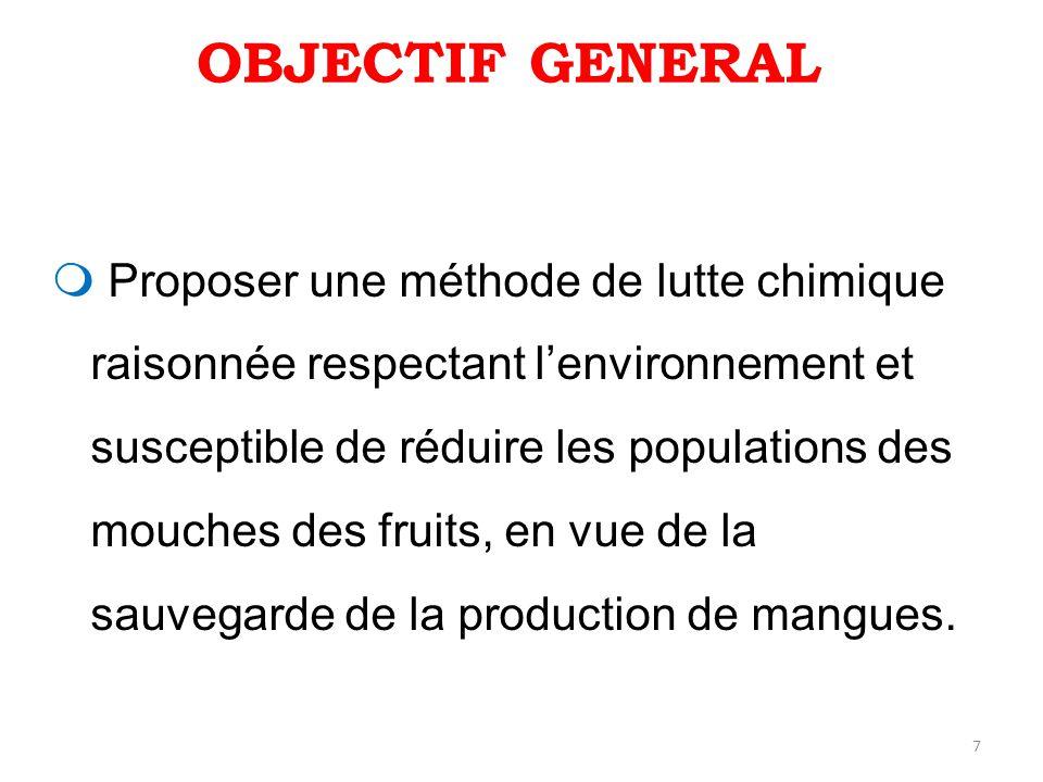 28 Au nord Figure 11: Fluctuation des populations des mouches des fruits capturées par piégeage en verger de manguiers à Korhogo de septembre 2008 à août 2009 En milieu paysan