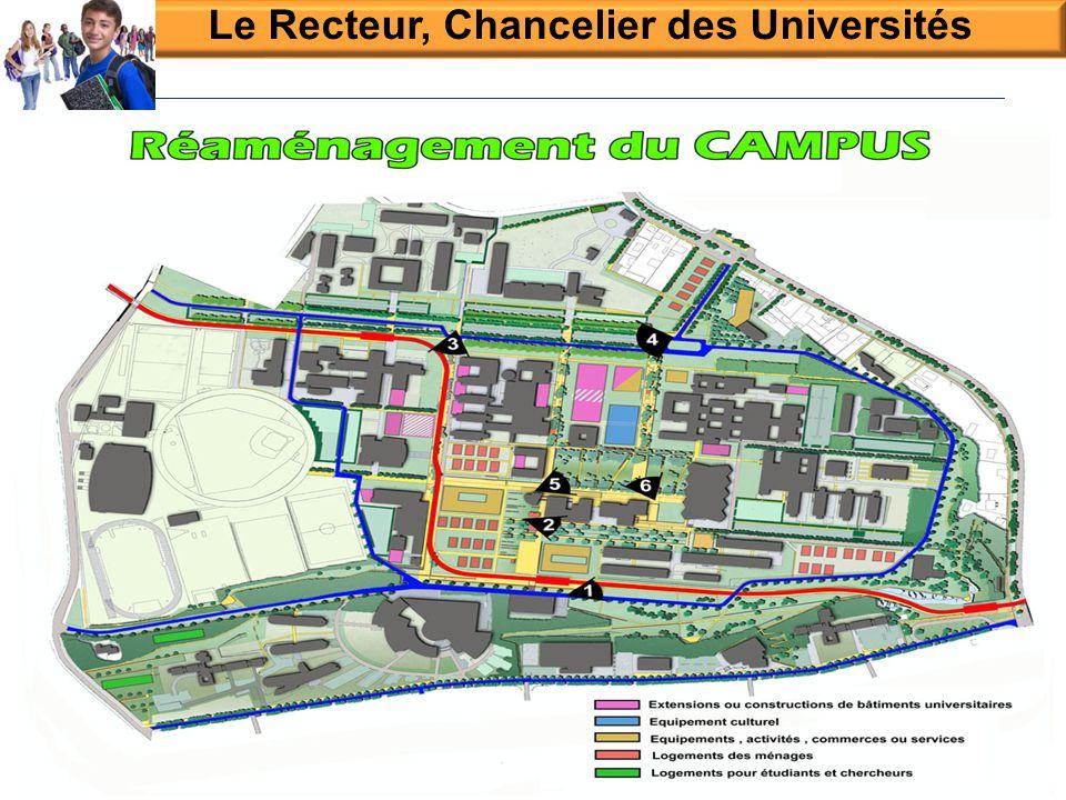 Le Recteur, Chancelier des Universités Réunion de direction le 10/02/2012 20- 1 -