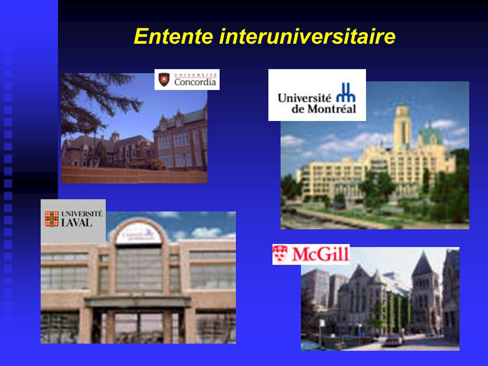 Entente interuniversitaire