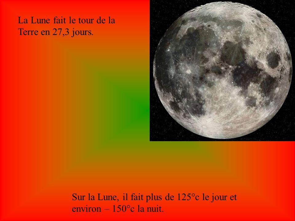 La Lune est la plus proche voisine de la Terre.Elle est le satellite naturel de la Terre.