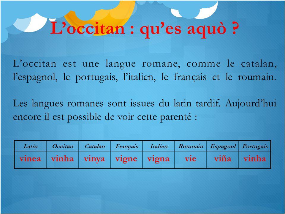 L'occitan : qu'es aquò .