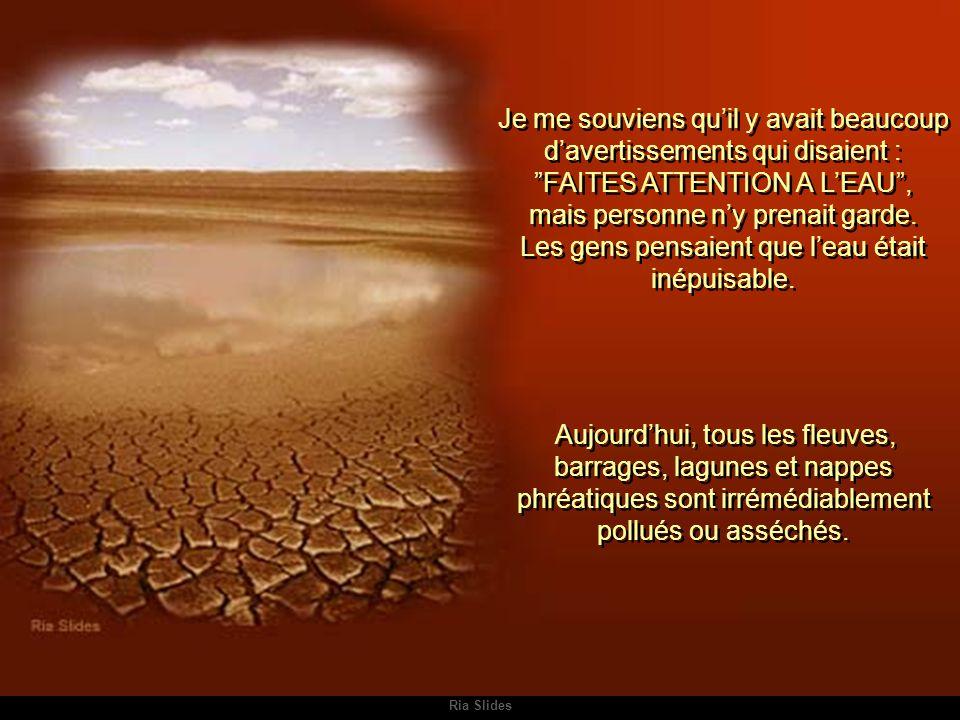 Ria Slides Certains pays ont réussi à préserver des îlots de végétation avec leur propre cours d'eau.