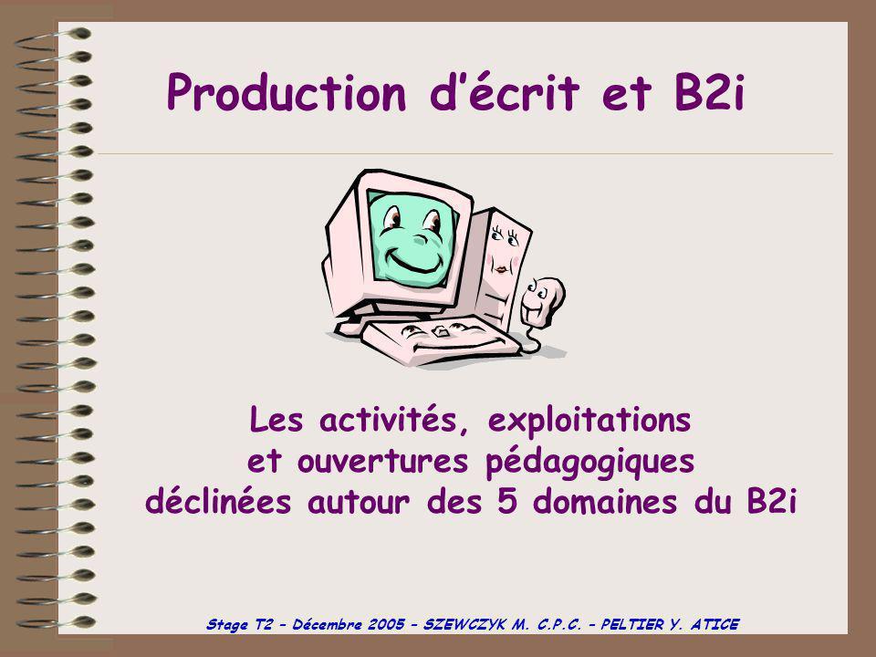 Domaine n°5 Communiquer avec d'autres grâce à une messagerie électronique.