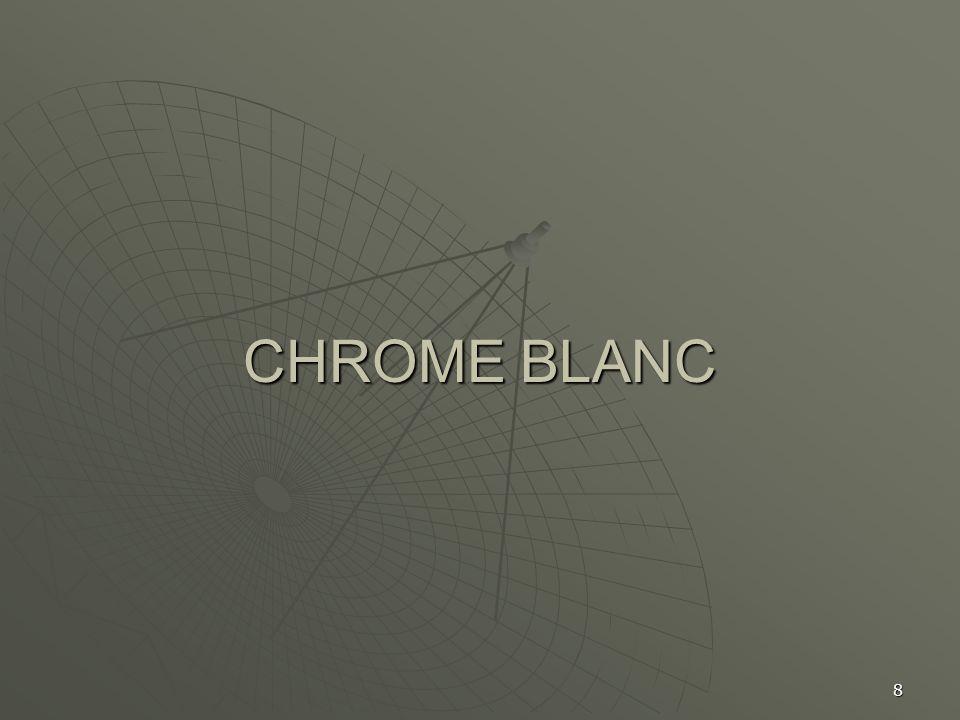 8 CHROME BLANC