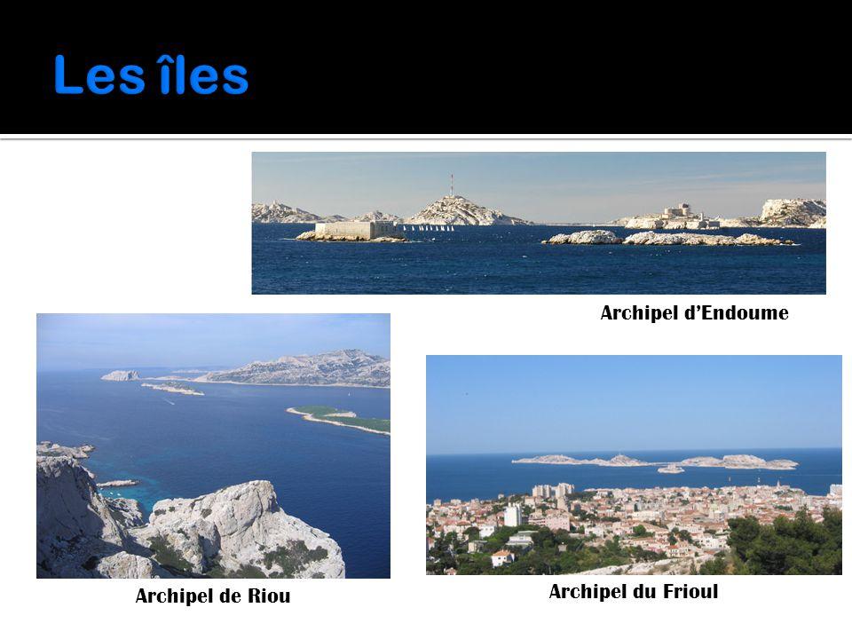 Archipel d'Endoume Archipel de Riou Archipel du Frioul