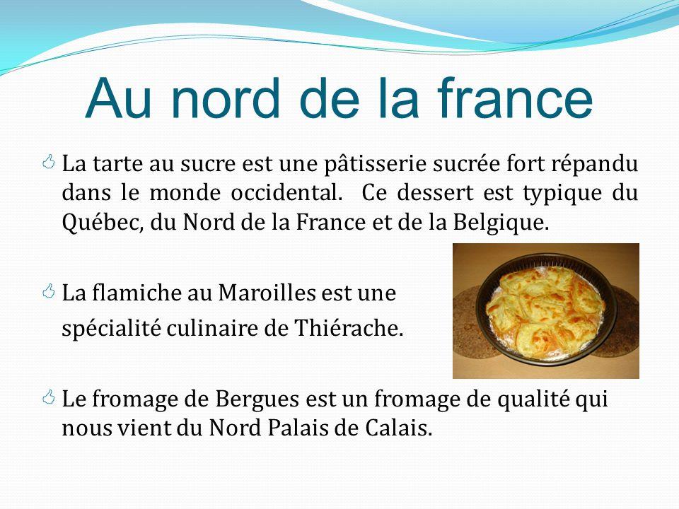  Un peu au Nord, il y a Lyon, dont les spécialités sont assez axées sur la charcuterie, avec en particulier l'andouillette (une saucisses à base de t