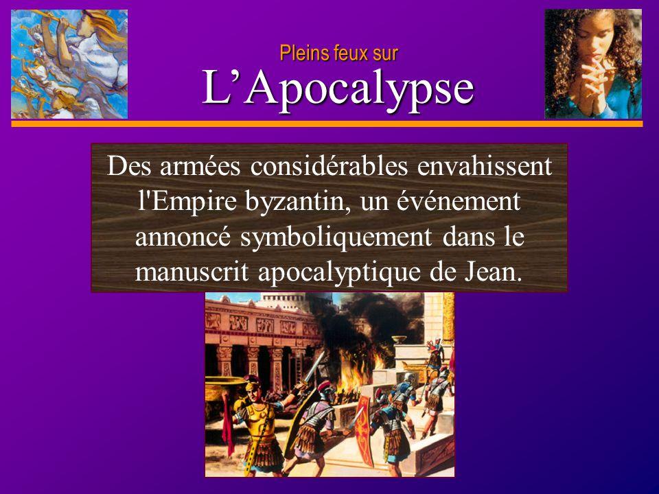 D anie l Pleins feux sur 19 L'Apocalypse Pleins feux sur L obscurcissement des luminaires célestes symbolisait la disparition des vérités spirituelles.