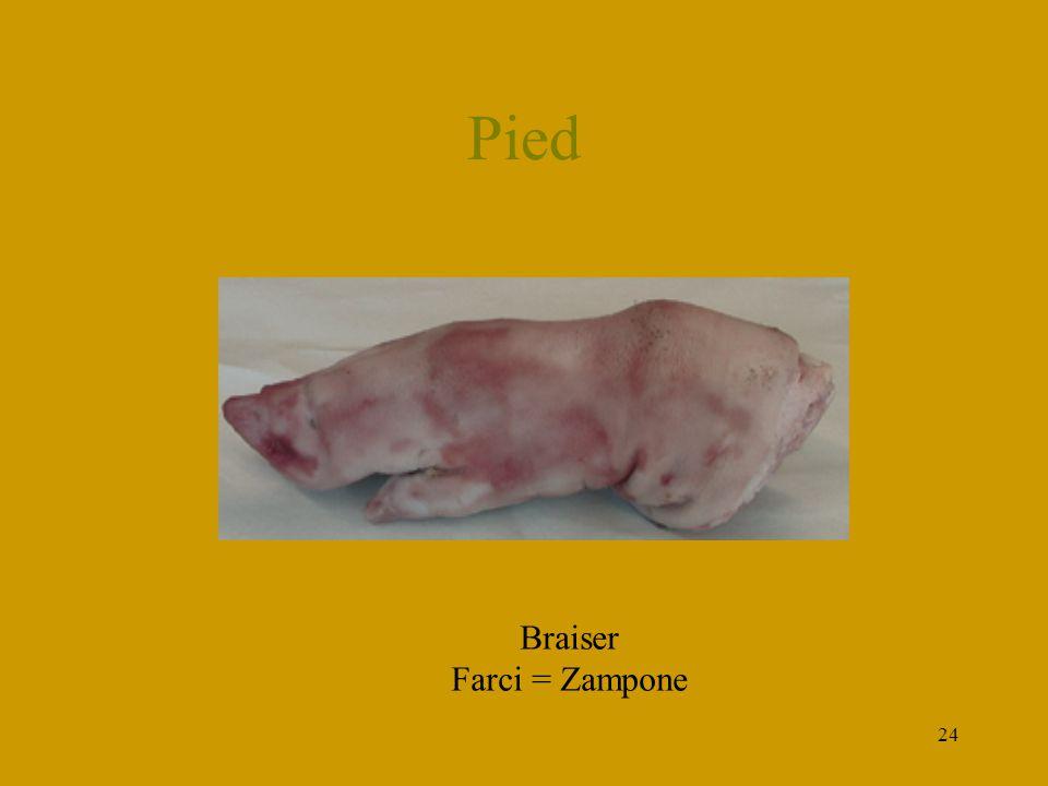 24 Pied Braiser Farci = Zampone