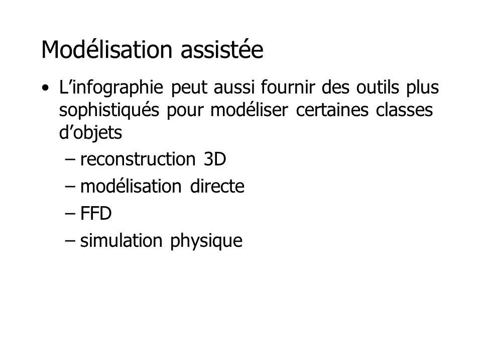 Reconstruction 3D www.stockeryale.com Seitz •Objet de mesure robotisé •Stéréovision et triangulation