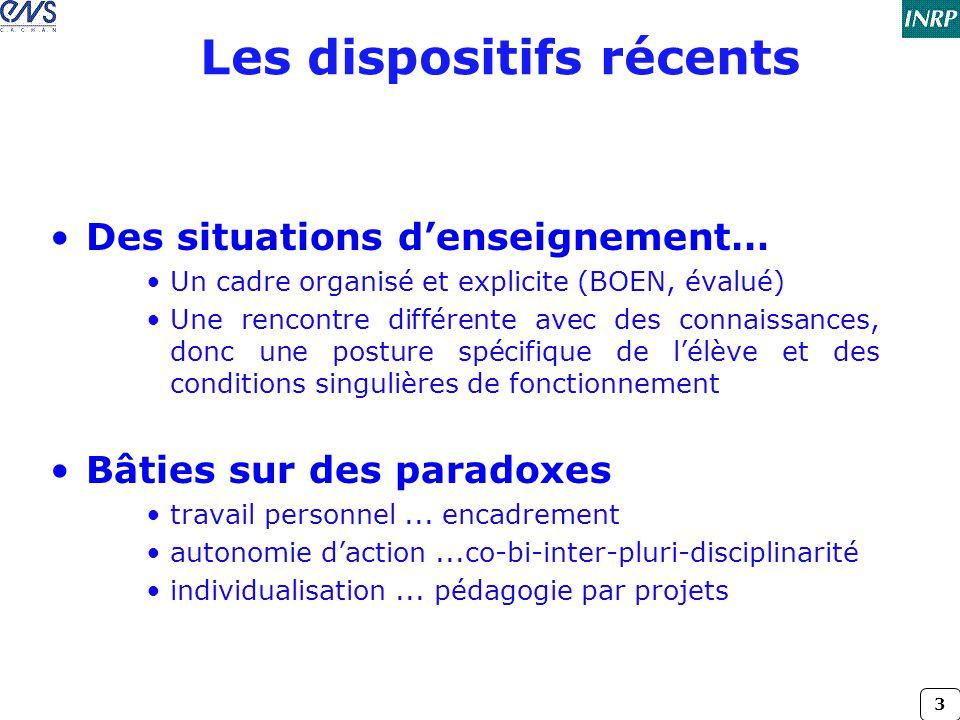 4 La DP, revendications...