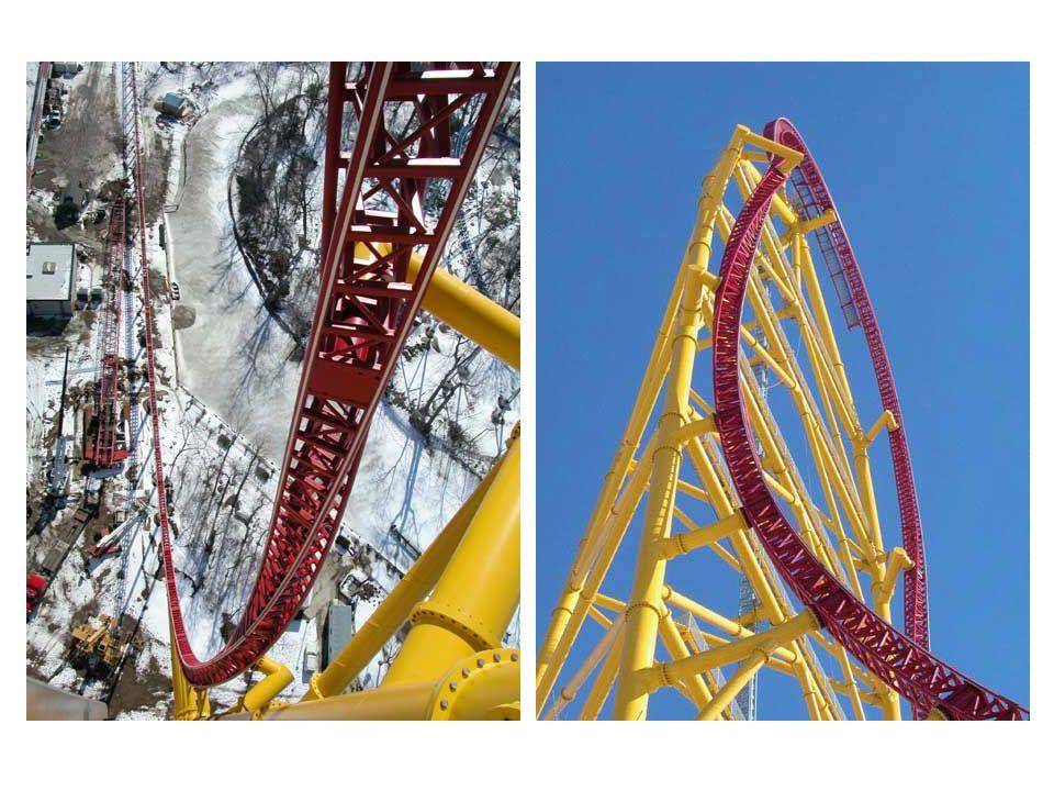 Voilà, c'était le Top Thrill Dragster de Cedar Point, dans l'Ohio…