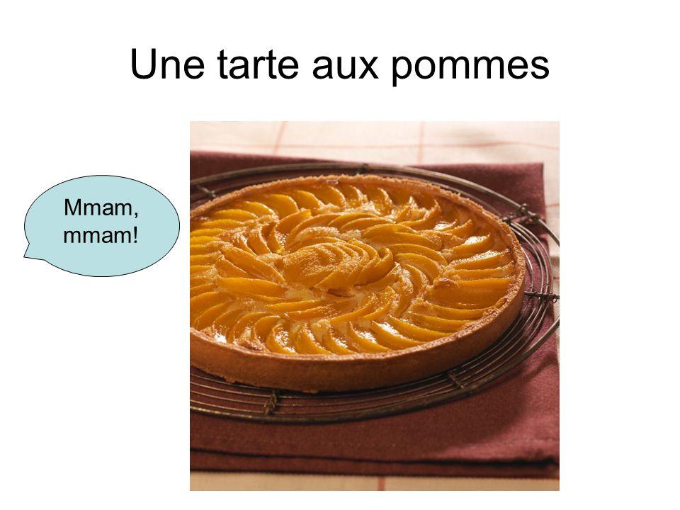 Une tarte aux pommes Mmam, mmam!