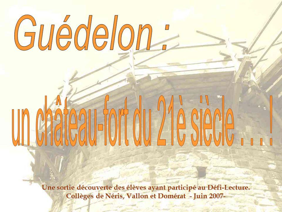 Une sortie découverte des élèves ayant participé au Défi-Lecture. Collèges de Néris, Vallon et Domérat - Juin 2007-