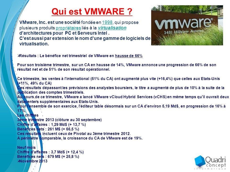 Qui est VMWARE .VMware, Inc.