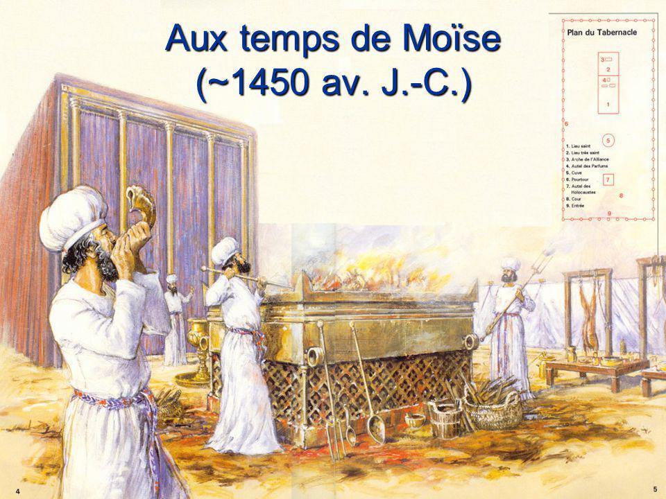 Aux temps de Moïse (~1450 av. J.-C.)