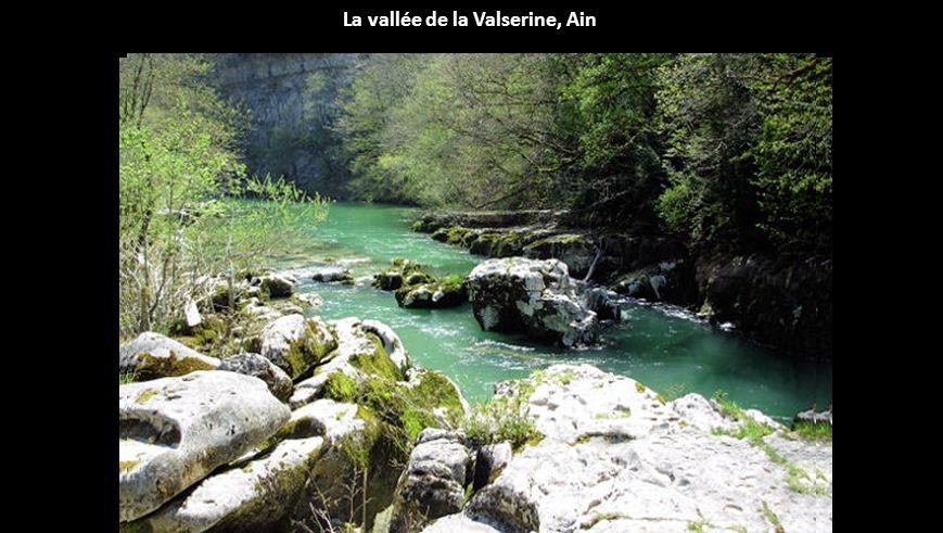La vallée de la Valserine, Ain