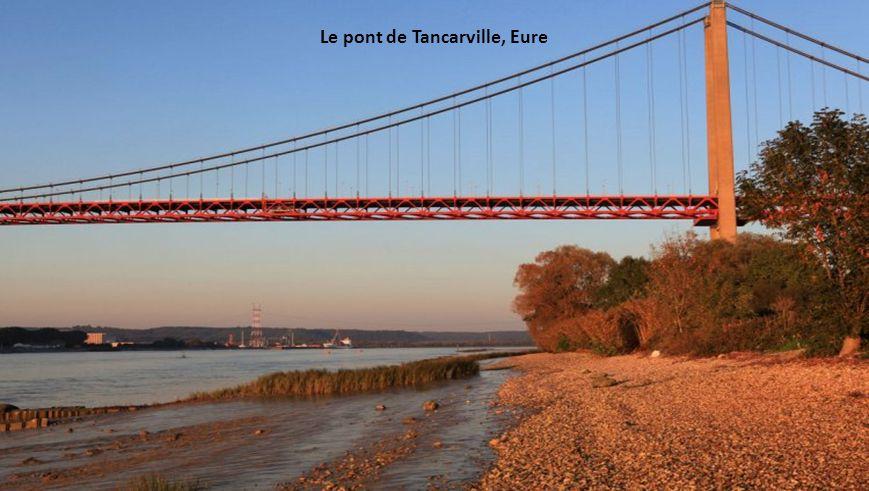 Le pont de Tancarville, Eure