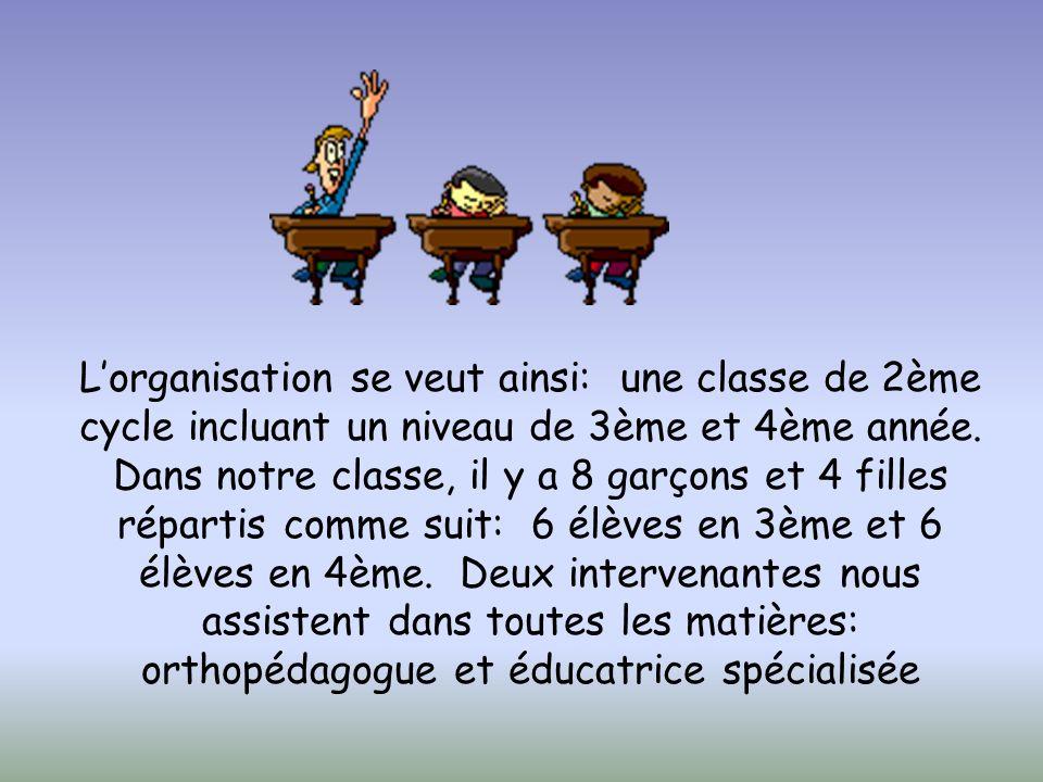 Dans l'école Saint- Eusèbe, nous comptons 50 élèves.