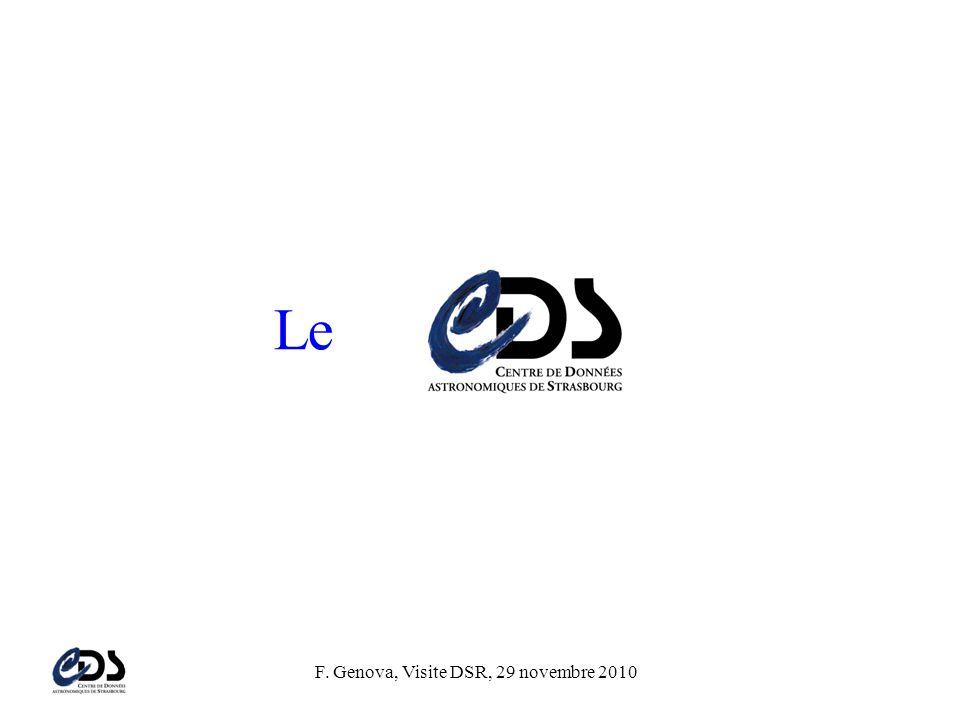 F. Genova, Visite DSR, 29 novembre 2010 Le