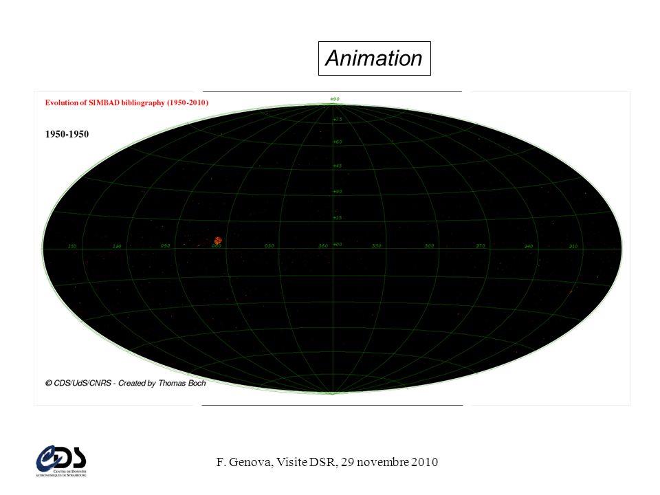 F. Genova, Visite DSR, 29 novembre 2010 Animation