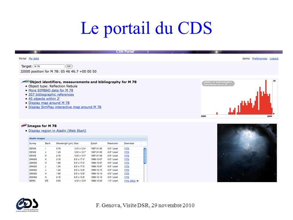 Le portail du CDS